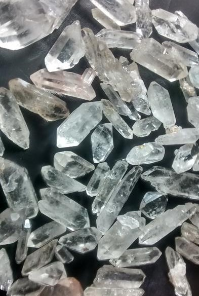 Stones from Uruguay -  Unpolished Bi-Terminated Points for Jewelries