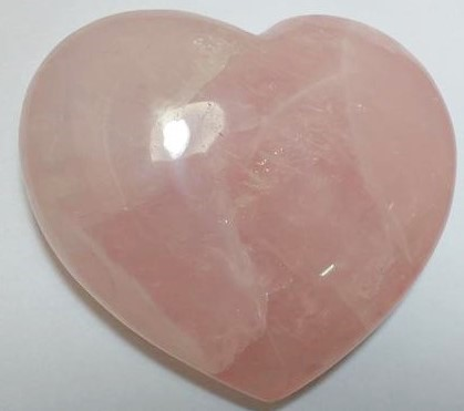 Stones from Uruguay - Rose Quartz Heart for Home & Decor