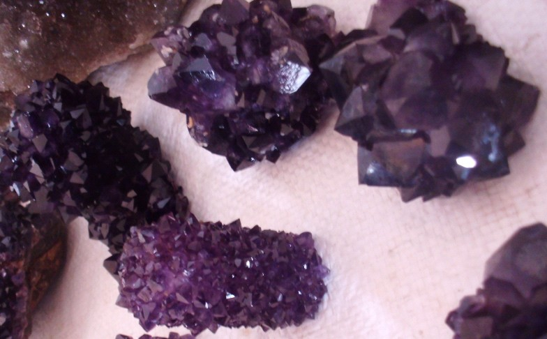 Stones from Uruguay - Amethyst Formation