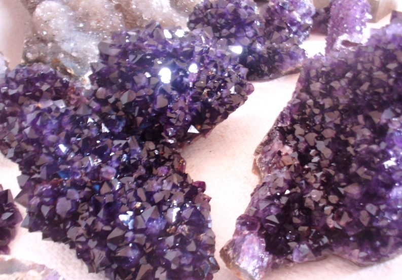 Stones from Uruguay - Amethyst Formations