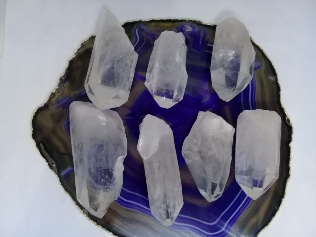 Stones from Uruguay - Clear Quartz Points