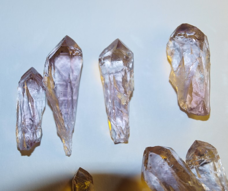 Stones from Uruguay - Natural Quartz Crystal I Points