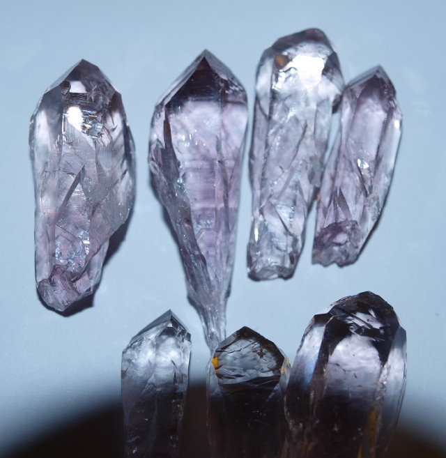 Stones from Uruguay -  Quartz Crystal I Points
