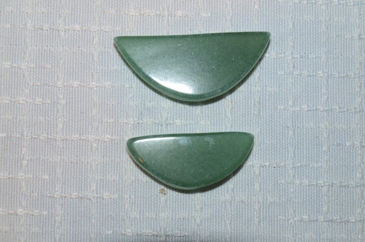 Stones from Uruguay - Green Aventurine  Smile
