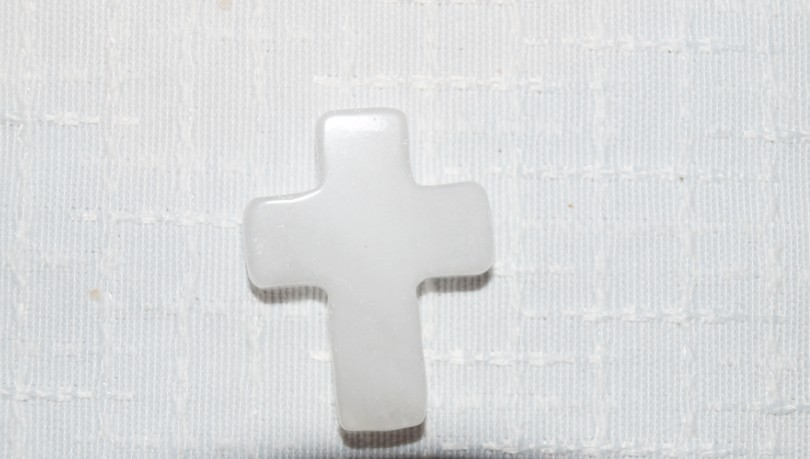 Stones from Uruguay - White Dolomite Crucifix