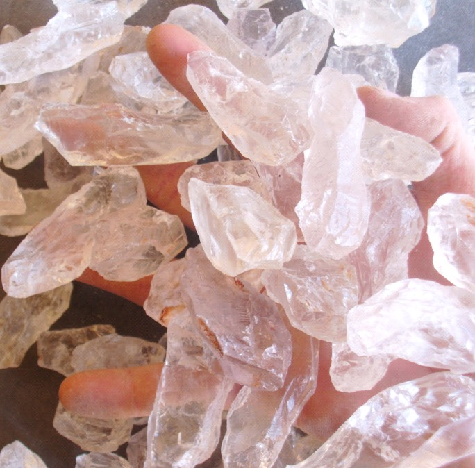 Stones from Uruguay - Crystal 100% Clean for Treatment(10-20gr)