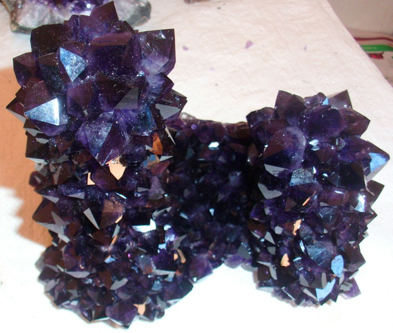 Stones from Uruguay - AMETHYST SPECIAL PIECE WITH DOUBLE TOWER (SOLD)