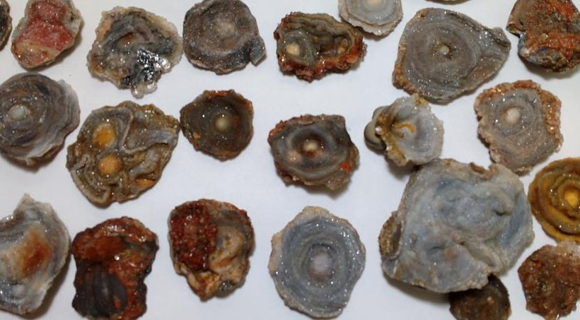 Stones from Uruguay - Amorite Chalcedony Rosettes