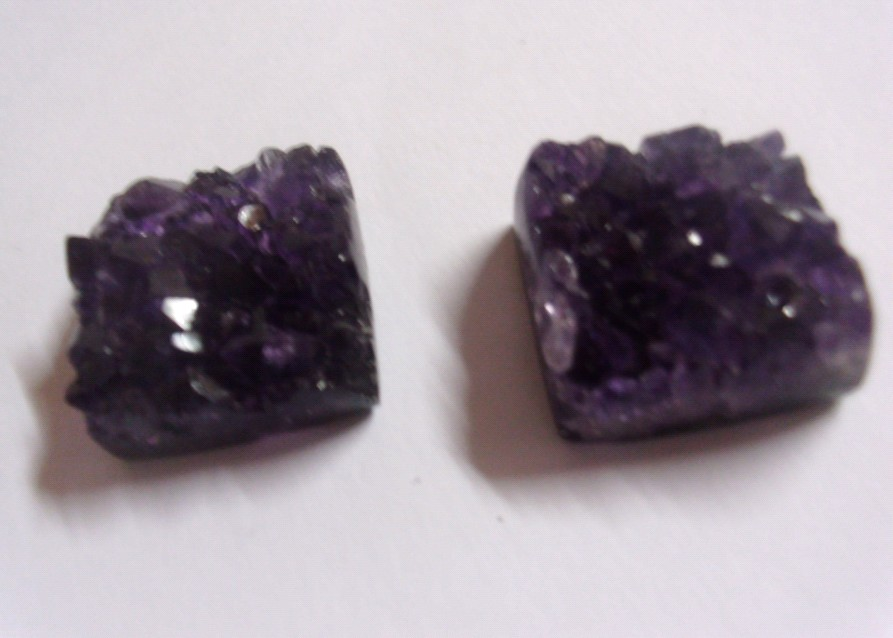 Stones from Uruguay - Amethyst Druzy Square