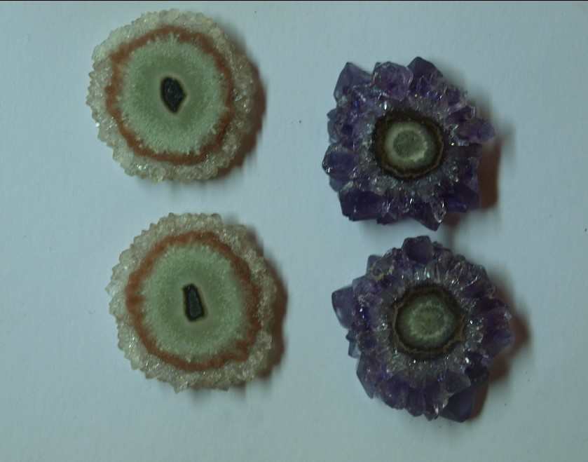 Stones from Uruguay - Amethyst Stalactite  Pairs