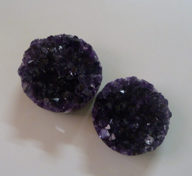 Stones from Uruguay - Amethyst Druzy Cicle